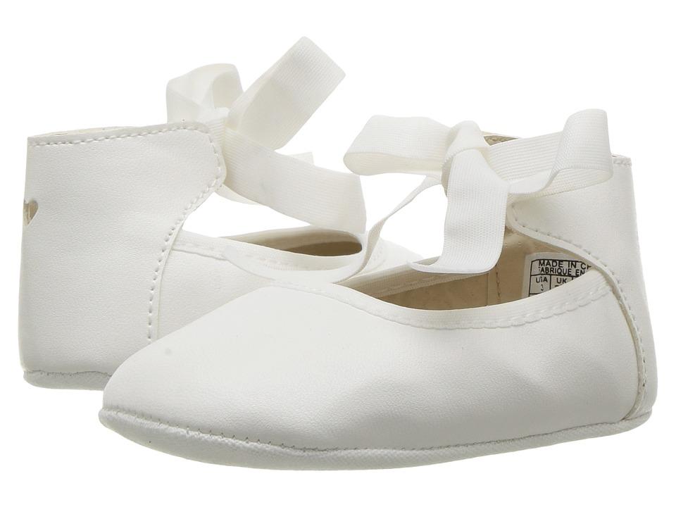 Nine West Kids Wendyrina (Infant/Toddler) (White Smooth) Girl's Shoes