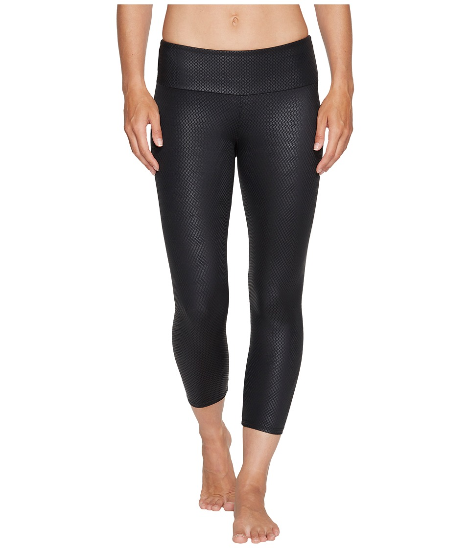 Onzie Capri Pants (Black Fishnet) Women