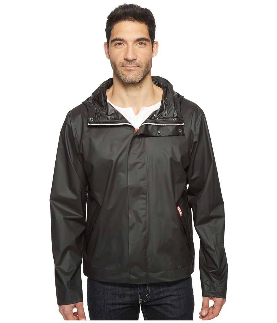 Hunter Original Vinyl Windcheater (Black) Men's Coat