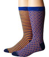 Scotch & Soda - Colorful Pattern Socks 2-Pack