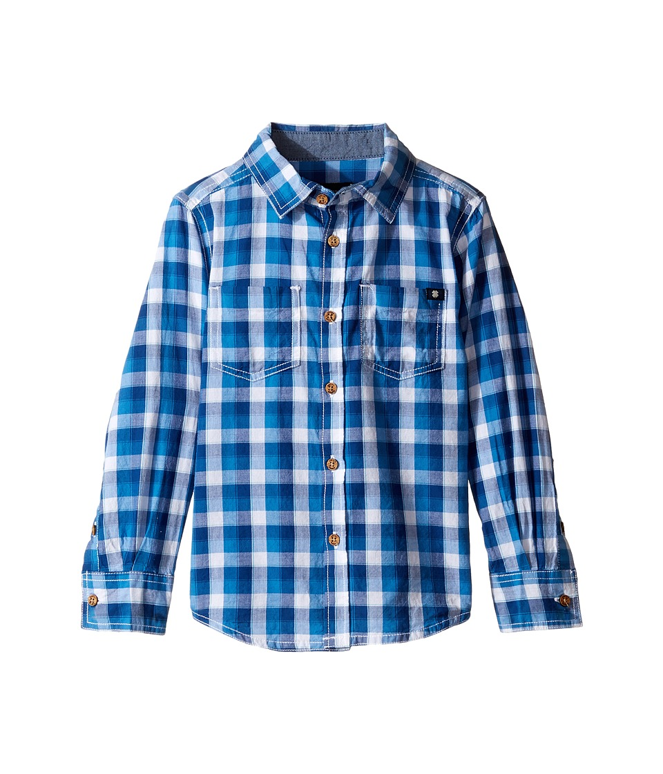 Lucky Brand Kids - Long Sleeve High Tide Woven in Poplin