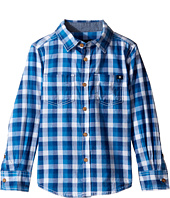 Lucky Brand Kids - Long Sleeve High Tide Woven in Poplin (Little Kids/Big Kids)