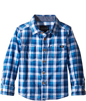 Lucky Brand Kids - Long Sleeve High Tide Woven in Poplin (Toddler)