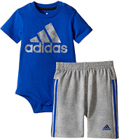 adidas Kids - Dynamic Rise Bodyshirt Set (Infant)
