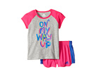 adidas Kids - On My Way Up Shorts Set (Infant)