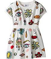 Moschino Kids - All Over Beauty Face Print Dress (Little Kids/Big Kids)