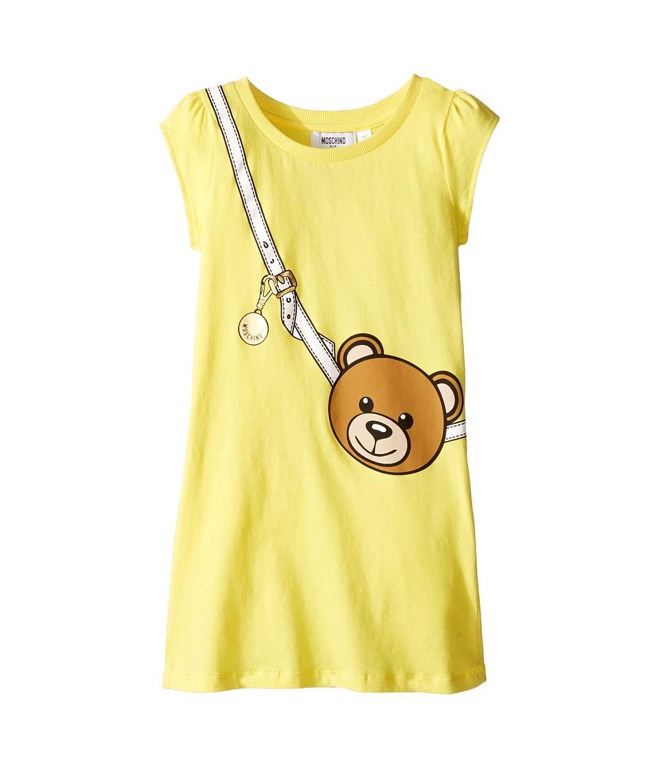 Moschino Kids - Teddy Bear Purse Graphic Dress