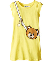 Moschino Kids - Teddy Bear Purse Graphic Dress (Little Kids/Big Kids)