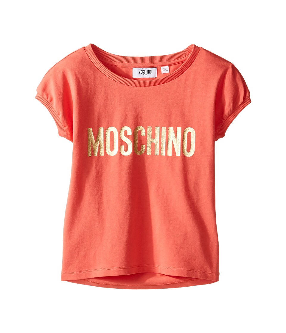 Moschino Kids - Short Sleeve Logo T-Shirt