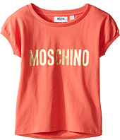 Moschino Kids - Short Sleeve Logo T-Shirt (Little Kids/Big Kids)