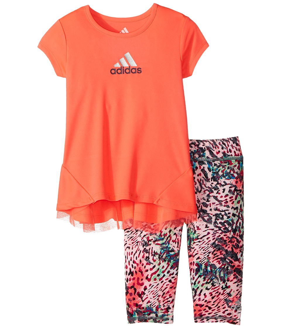 adidas Kids - Printed Capris Set