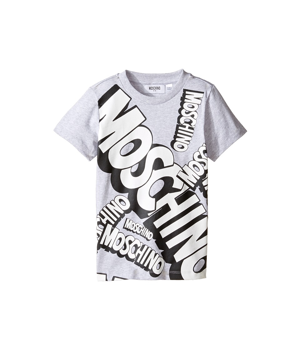 Moschino Kids - Short Sleeve Logo Graphic T-Shirt