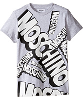 Moschino Kids - Short Sleeve Logo Graphic T-Shirt (Big Kids)