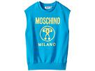 Moschino Kids - Sleeveless Sweat Top w/ Logo on Front (Big Kids)