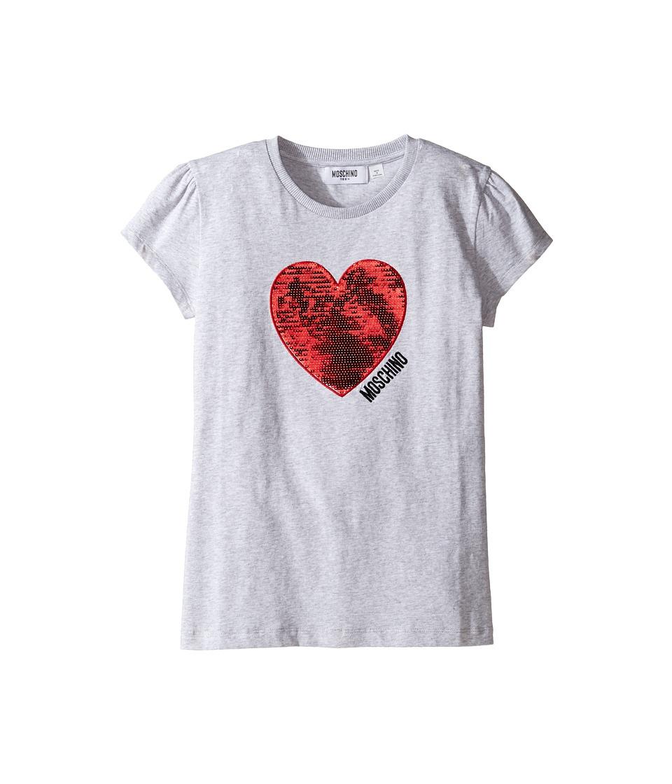 Moschino Kids - Short Sleeve Heart Logo T-Shirt