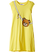 Moschino Kids - Teddy Bear Purse Graphic Dress (Big Kids)