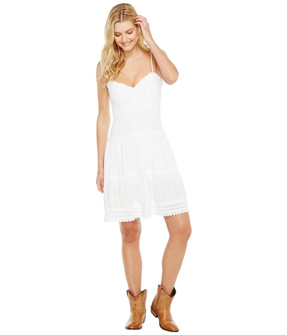 Scully Cantina Fenella Sun Burst Dress (White) Women