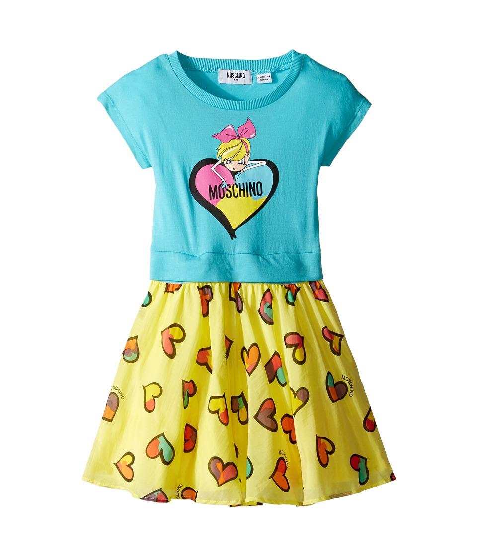 Moschino Kids - Heart Graphic T-Shirt Skirt Set