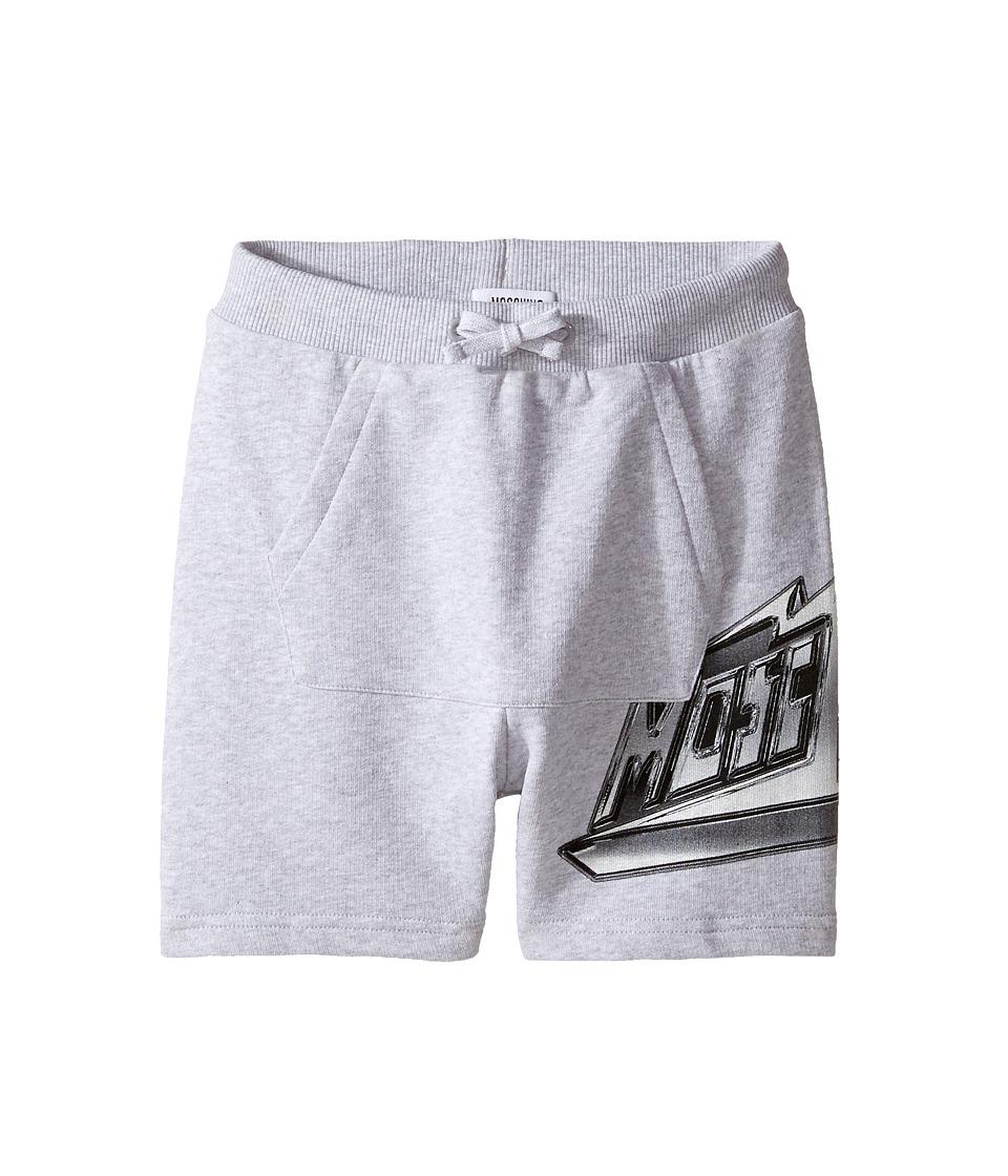 Moschino Kids - Sweatshorts w/ Front Pocket Logo Detail