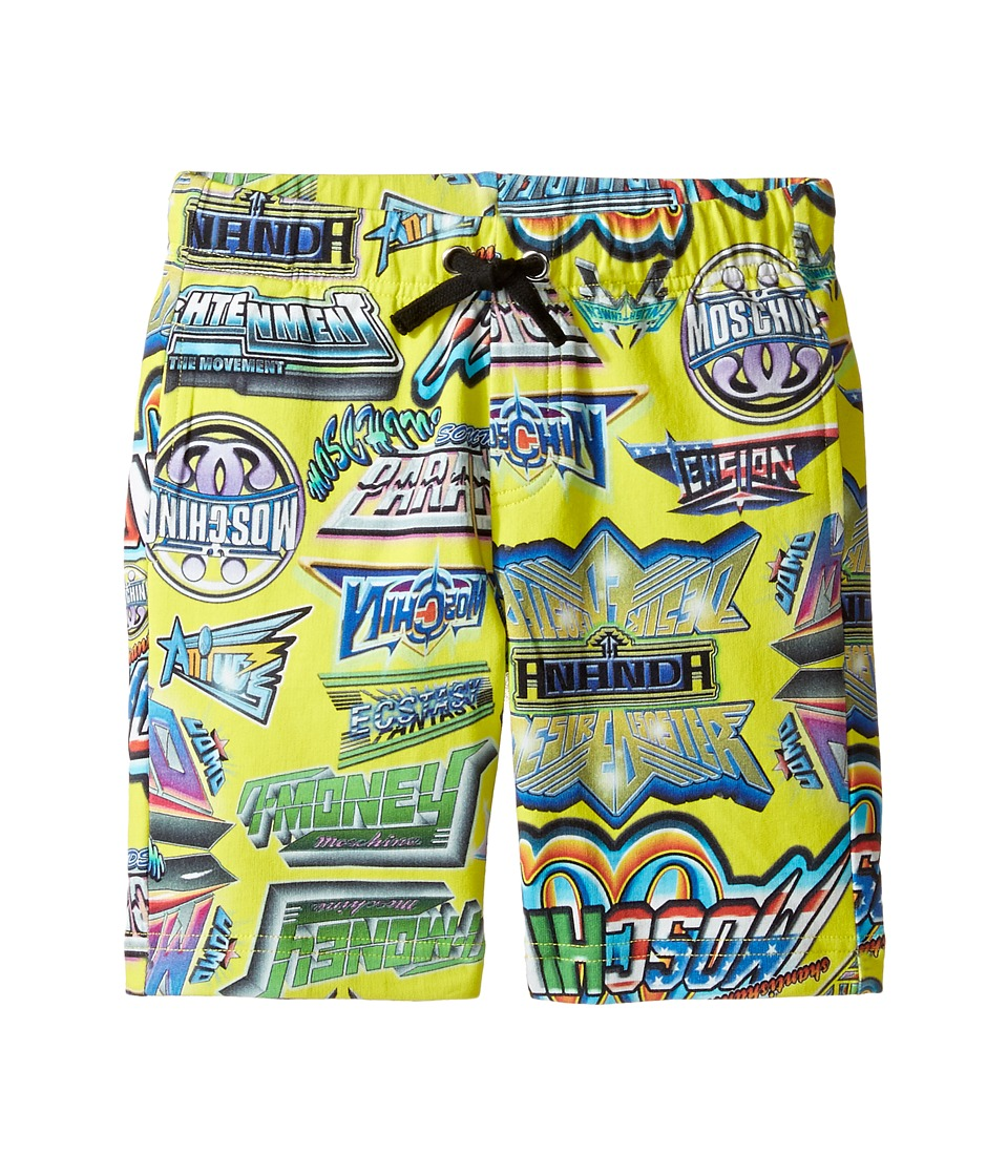 Moschino Kids - All Over Logo Print Shorts