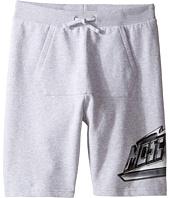 Moschino Kids - Sweatshorts w/ Front Pocket & Logo Detail (Big Kids)