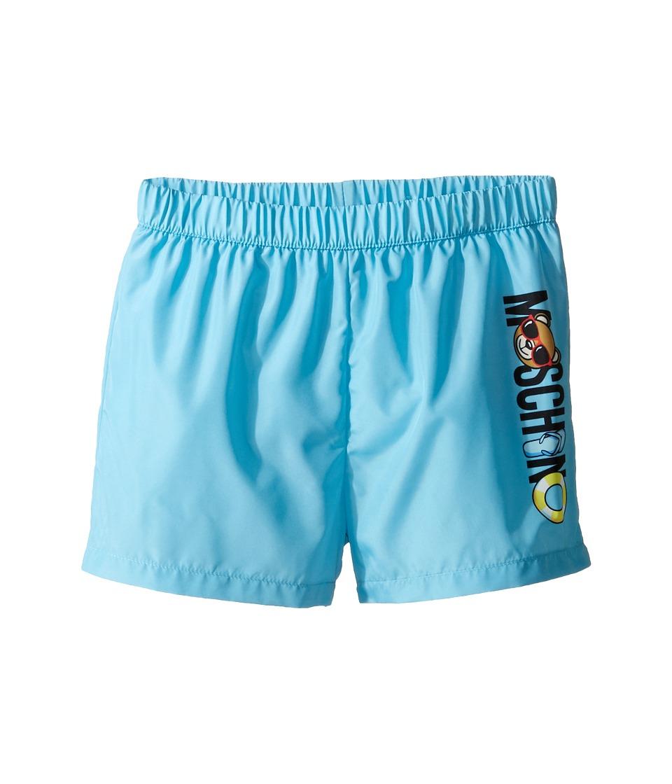 Moschino Kids - Beach Logo Swim Shorts