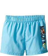 Moschino Kids - Beach Logo Swim Shorts (Infant/Toddler)