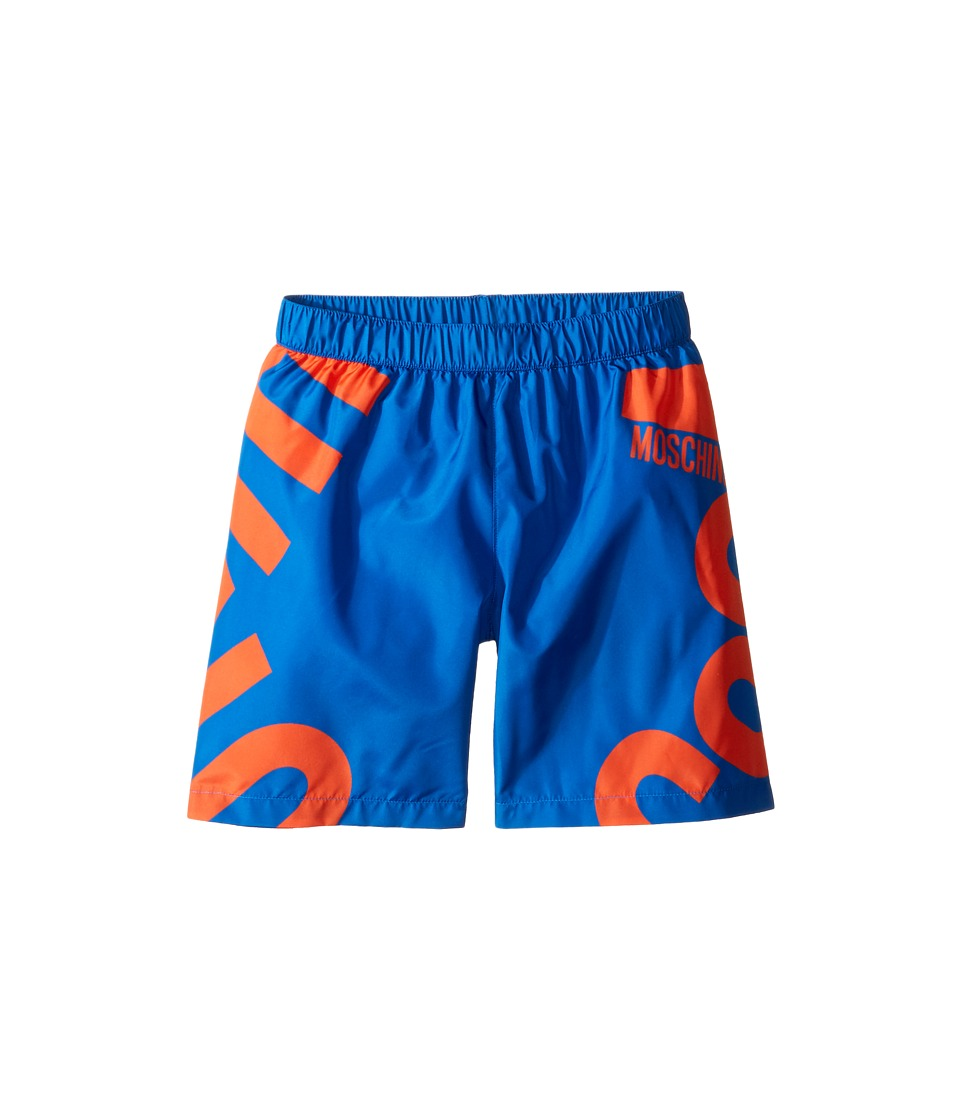 Moschino Kids - Logo Graphic Swim Shorts
