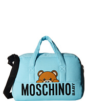 Moschino Kids - Teddy Bear Logo Diaper Bag w/ Mat