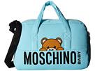 Moschino Kids - Teddy Bear Logo Diaper Bag w/ Mat