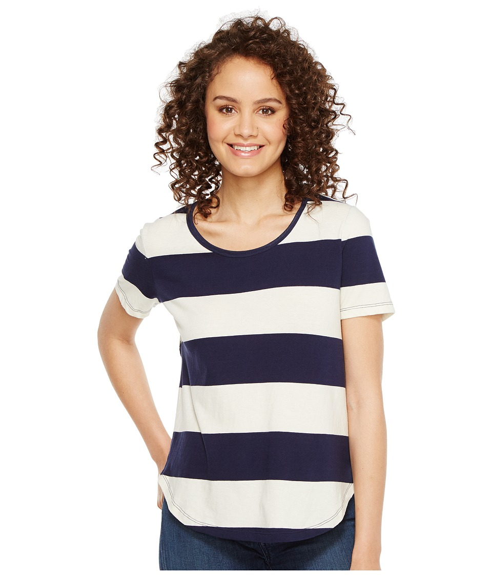 Splendid Cross Back Tee (Navy) Women
