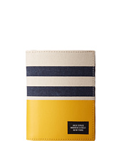 Jack Spade - Striped Dipped Passport Wallet