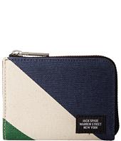 Jack Spade - Diagonal Dipped Coin Wallet