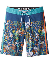VISSLA Kids - Aqua Garden Four-Way Stretch Boardshorts 17