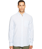 Jack Spade - Long Sleeve Linen Micro Stripe Shirt