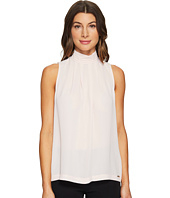 Ivanka Trump - Sleeveless Georgette Woven Blouse