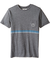VISSLA Kids - Dredger Short Sleeve Pocket Knit Tee (Big Kids)