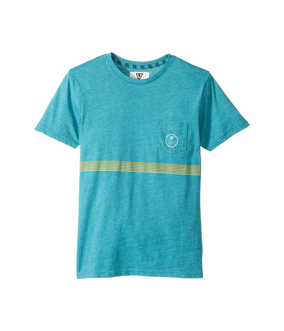 VISSLA Kids - Dredger Short Sleeve Pocket Knit Tee