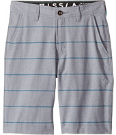 VISSLA Kids - Fin Rope 4-Way Stretch Hybrid Walkshorts 17.5