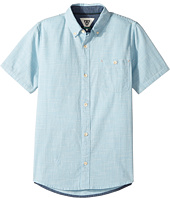 VISSLA Kids - Pulses Short Sleeve Woven (Big Kids)