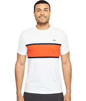 Lacoste - Sport Ultra Dry T-Shirt w/ Color Block Detail