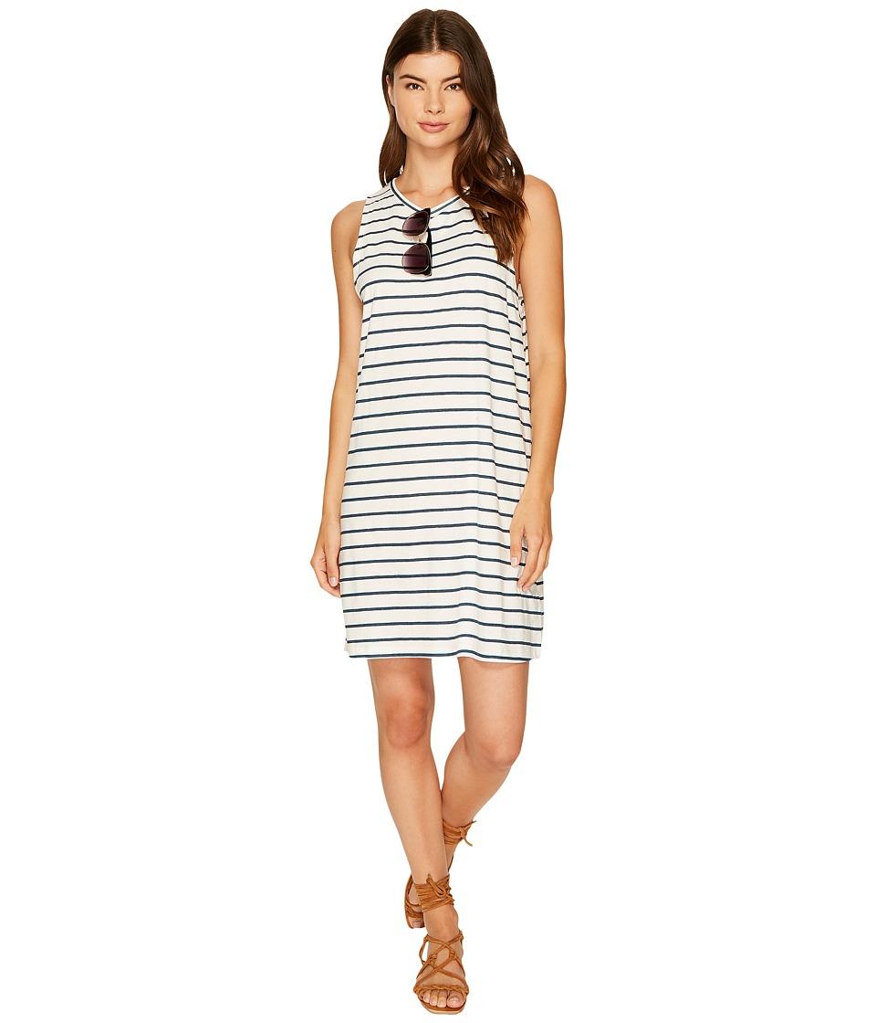 Roxy Just Simple Stripe Tank Dress (Marshmallow Lexi Stripe) Women