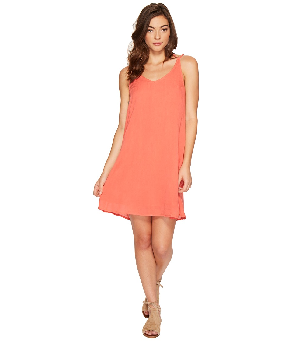 Roxy Dome of Amalfi Dress (Spiced Coral) Women