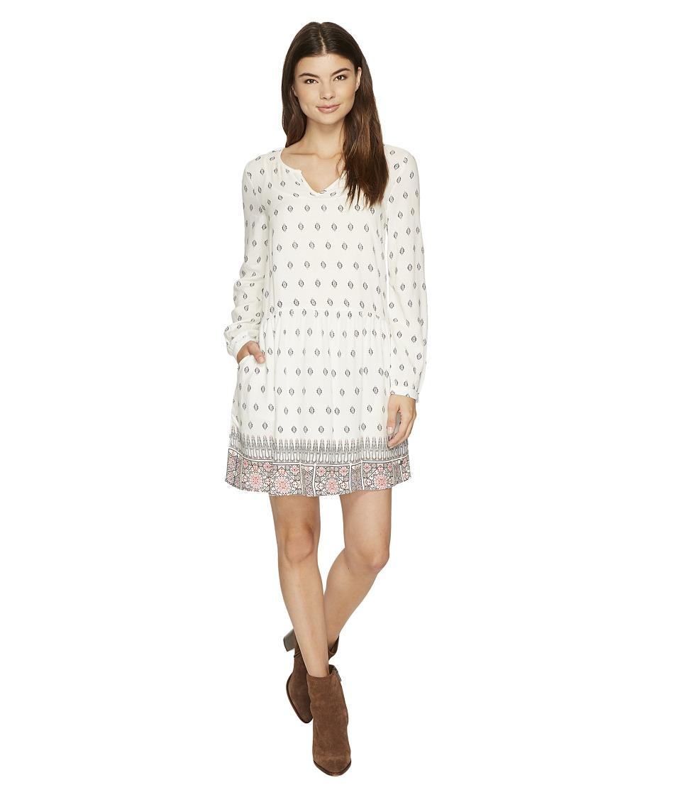 Roxy Sunkissed Daze Dress (Marshmallow Chief Prado Border) Women