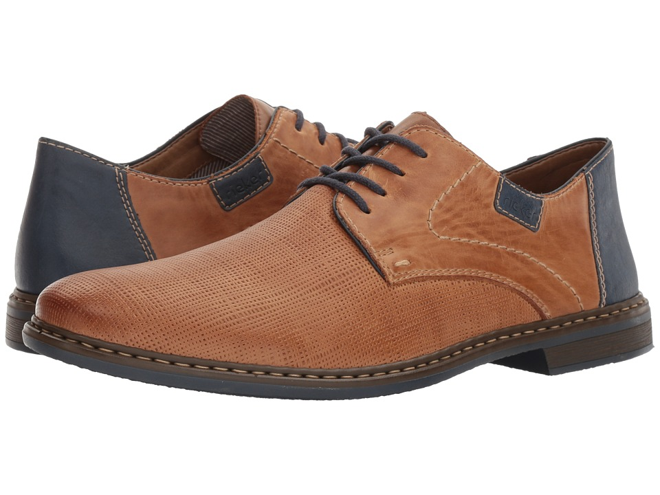 Rieker 13404 Diego 04 (Toffee/Royal/Navy) Men