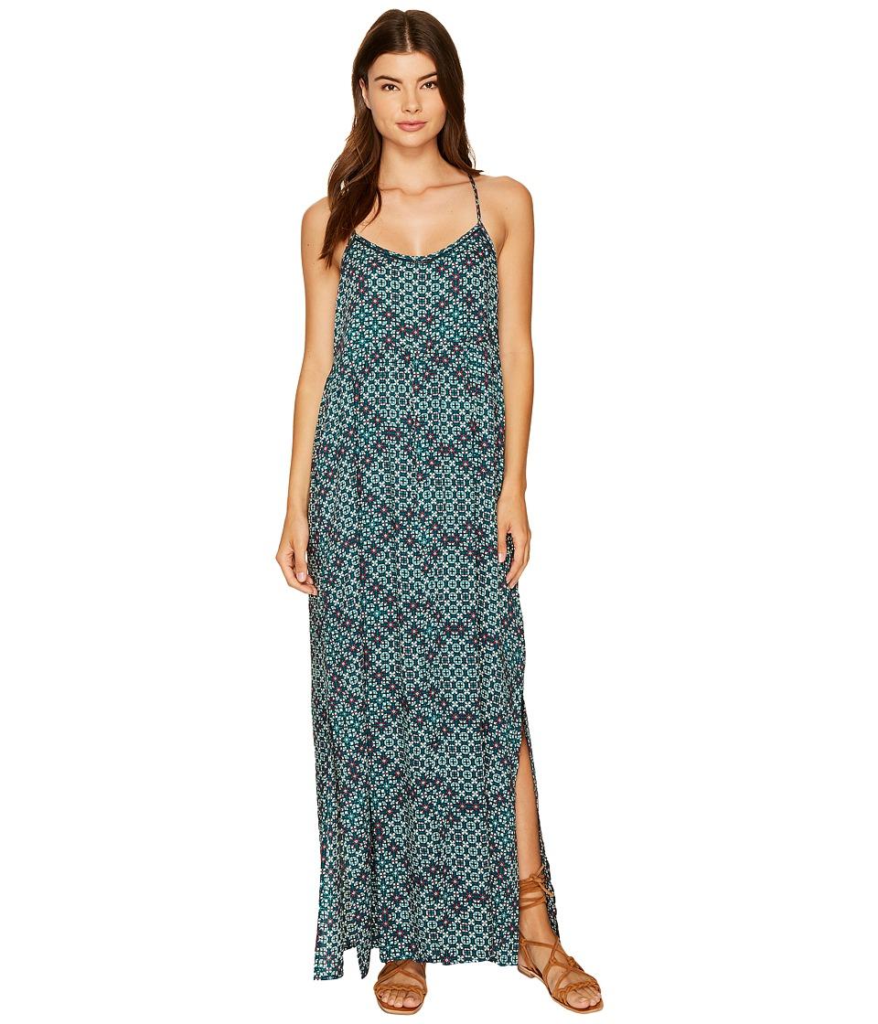 Roxy Start Something Maxi Dress (Reflective Pond Liberia) Women