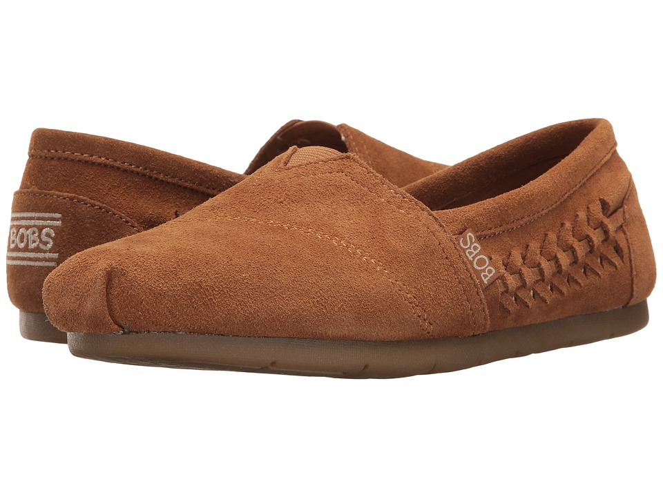 BOBS from SKECHERS Luxe Bobs Boho Crown (Chestnut) Women