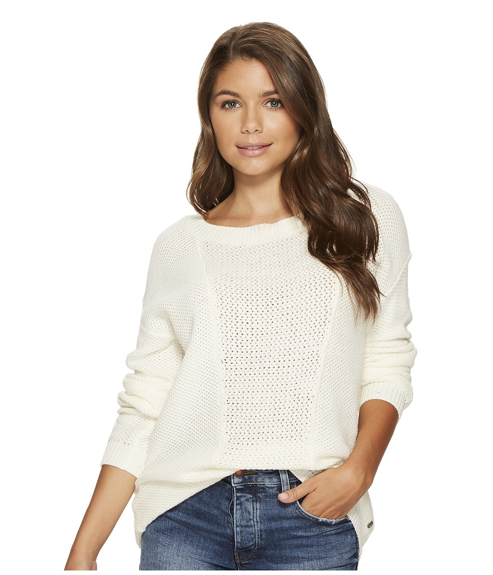 Roxy Deserve Good Things Sweater (Marshmallow) Women