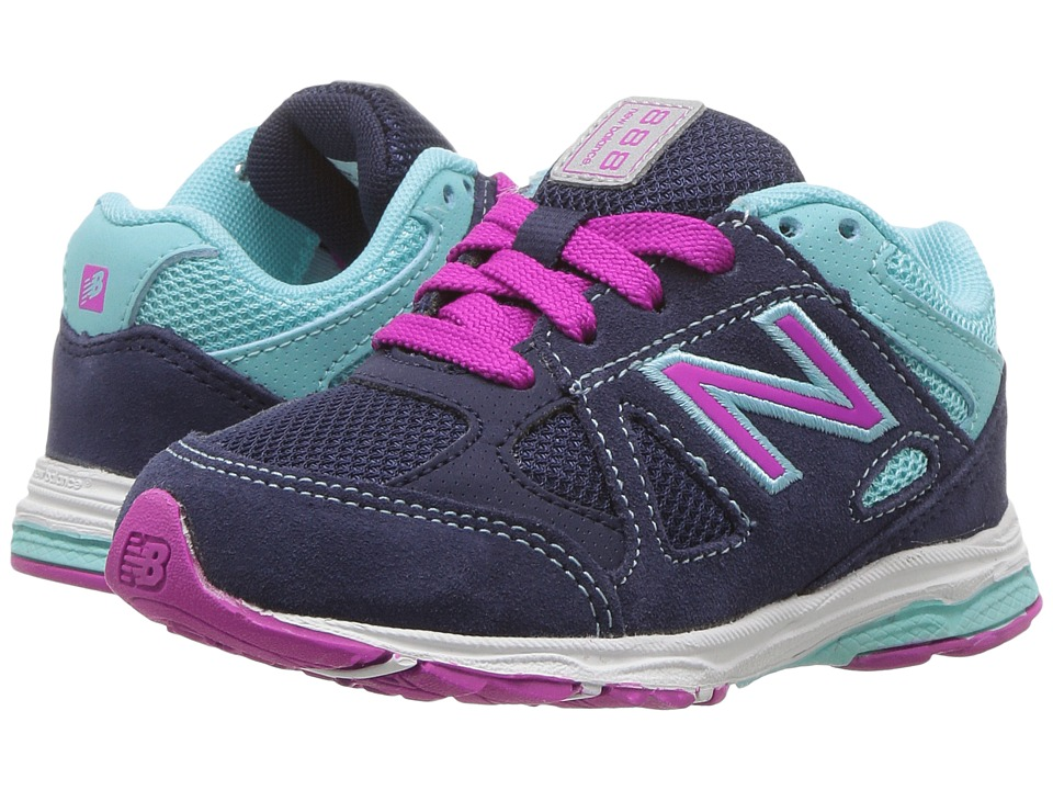 New Balance Kids KJ888v1 (Infant/Toddler) (Blue/Purple) Girls Shoes