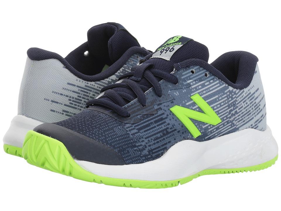 New Balance Kids KC996v3 (Little Kid/Big Kid) (Green/Green) Boys Shoes